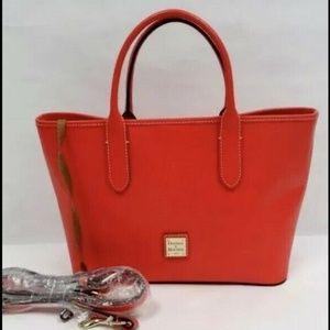 Dooney & Bourke Bags - Dooney & Bourke Brielle Saffiano Red Like New